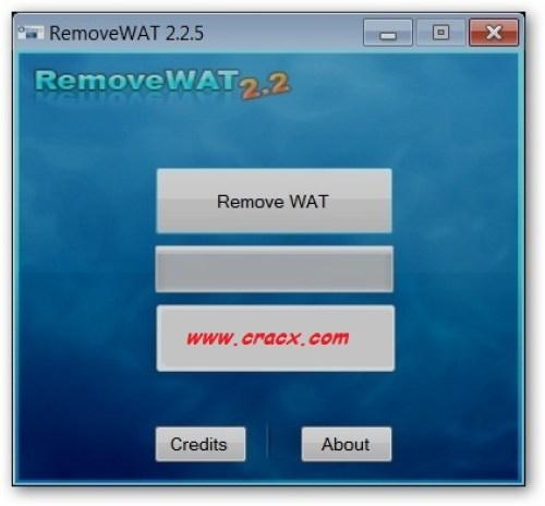 RemoveWAT 2.2.5 Windows 7 Activator Loader Full Download