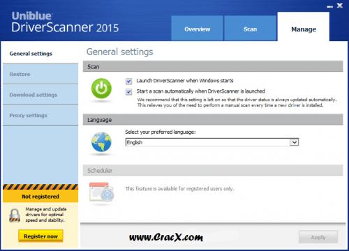Uniblue Driver Scanner 2015 Key + Keygen Full Download