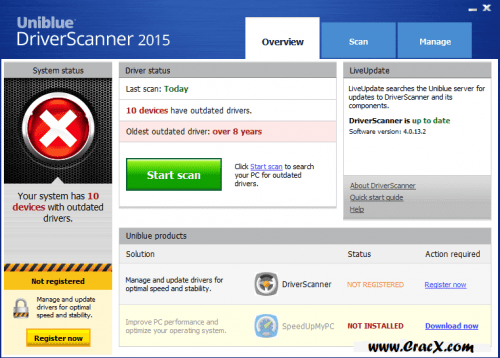 Uniblue Driver Scanner 2015 Keygen + Patch Full Download