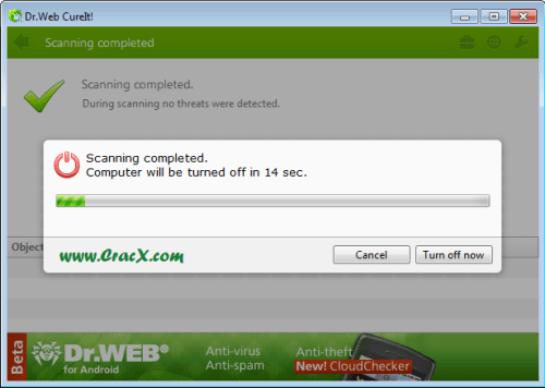 Dr.Web CureIt 10.0 for Widnows 7 Full Free Download