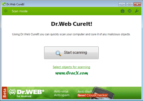 Dr.Web CureIt License Key Keygen Full Version Free Download