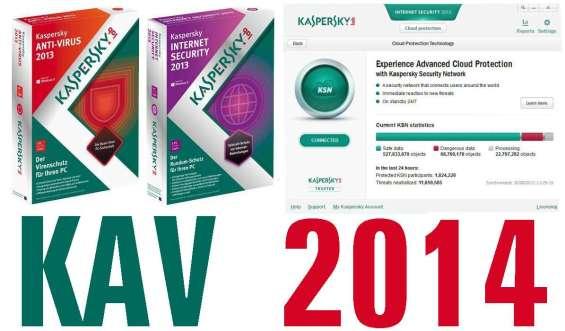 Kaspersky Antivirus 2014 Crack + Serial Key Free Download