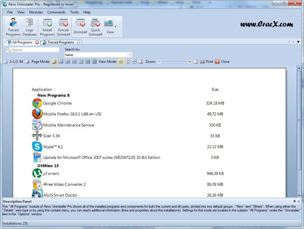 Revo Uninstaller Pro 3.0.8 Serial Key / Crack | WikiSerial