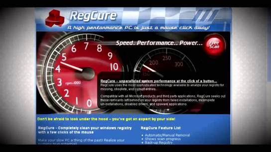 RegCure Pro License Key with Crack 2015 Free Download