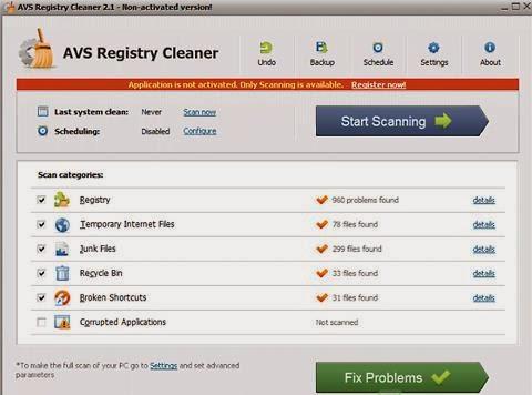 AVS Registry Cleaner 2.3 Crack Patch & Serial Key Full Free