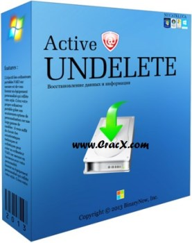 Active Undelete 10 Professional Crack + Key Free Download