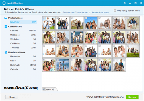 EaseUS MobiSaver 5.0 Crack + Licence Code Full Version