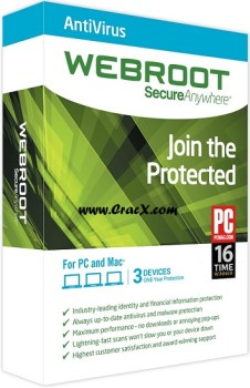 Webroot SecureAnywhere Antivirus 2015 Crack Full Free