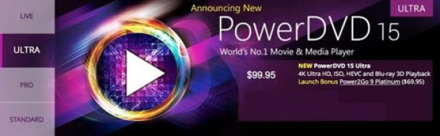 CyberLink PowerDVD Ultra 15 Keygen Full Version Download