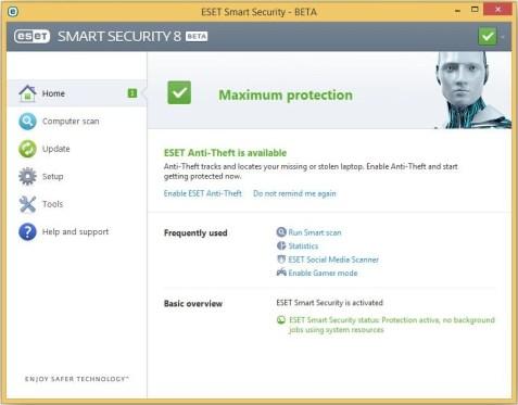 ESET Smart Security 8 Username & Password 2015 Full Free