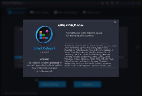 IObit Smart Defrag Pro 4 Key + Crack Keygen Free Download