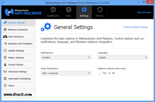 Malwarebytes Anti-Malware 2.1.8 Serial Key Full Version