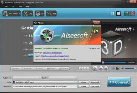 Aiseesoft Total Video Converter 8.1.10 Crack Full Version