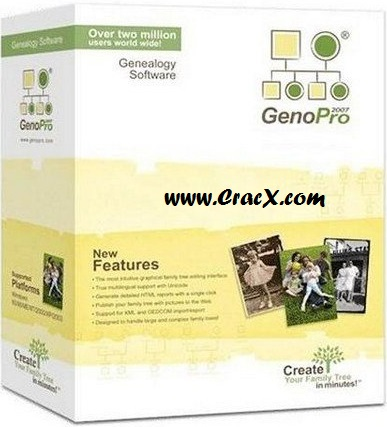 Genopro Registration Key 2.5.4.1 Crack Full Free Download