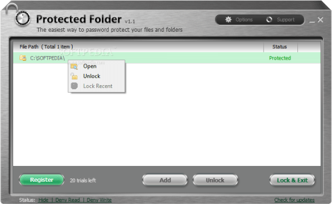 IObit Protected Folder 1.2 Serial Key and Patch Full Download