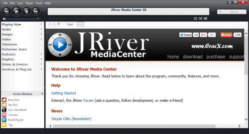 Jriver Media Center 20 Crack + License Key Free Download