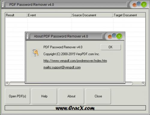 VeryPDF PDF Password Remover 4.0 Portable Full Download