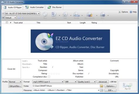 EZ CD Audio Converter Ultimate 2 Crack Full Download
