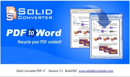Solid Converter PDF 7.2 Portable Crack Free Download