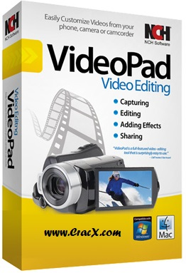 NCH VideoPad Video Editor Professional 4.22 Crack Download