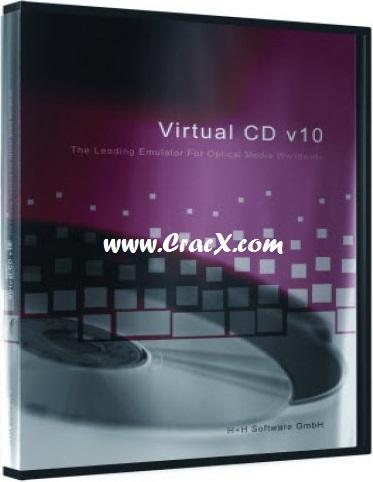 Virtual CD 10.7 Crack + Serial Key Keygen Full Free Download