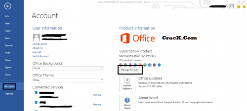 Microsoft Office 365 Product key + Crack Updated & Working Full