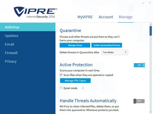 Vipre Internet Security 2016 Lifetime Crack Keygen Download