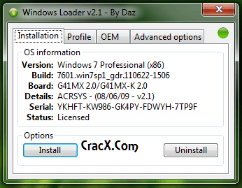 Windows 7 Professional Activation Crack