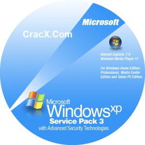 Windows XP ISO SP3 64bit + 32bit Free Download 2
