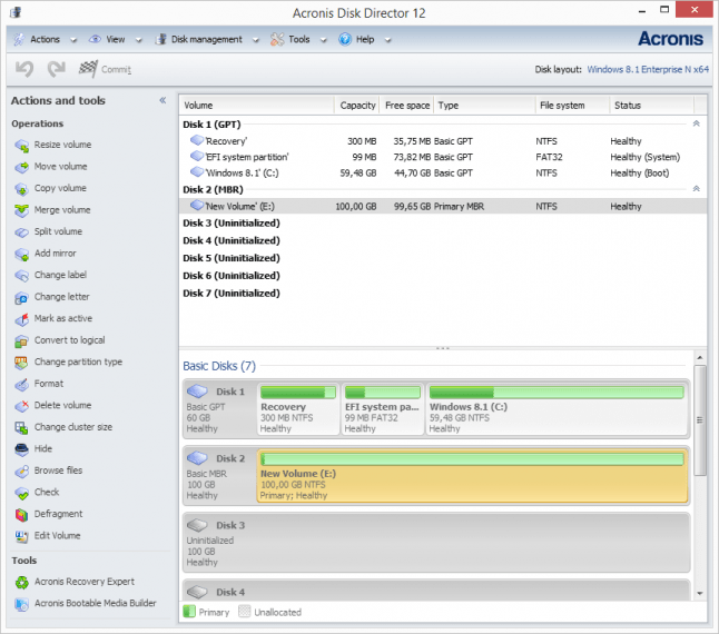 Acronis disk partition manager free download