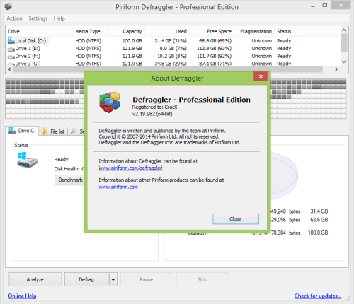 defraggler professional full version free download