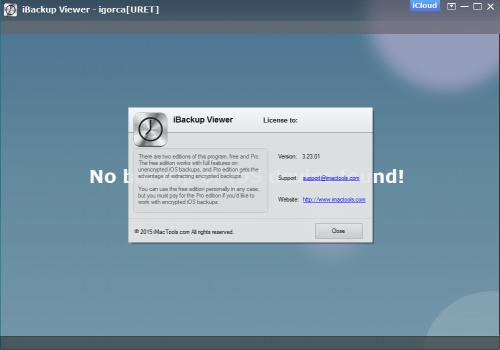 iBackup Viewer Pro Keygen + Serial Number 3.23 Download