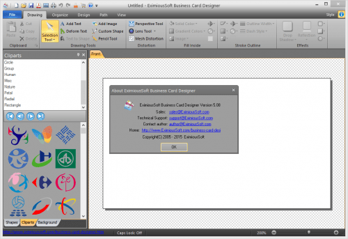 EximiousSoft Business Card Designer 5.08 Crack Patch Download
