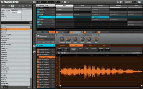 Native Instruments Maschine 2.4.0 Patch + Keygen Free Download