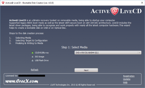 Active@ LiveCD 4 Crack & Patch Full Free Download