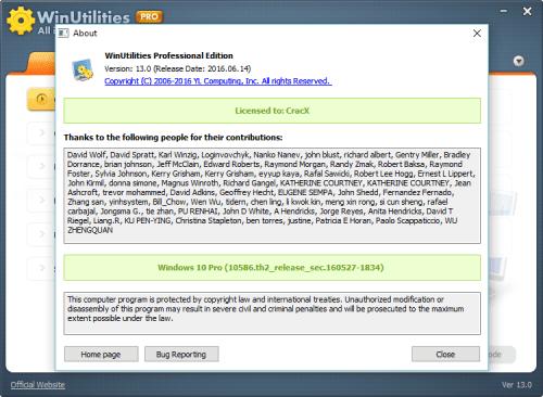 WinUtilities Pro 13.0 Serial Key + Crack Free Download