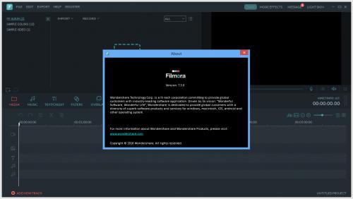 Wondershare Filmora 7 Patch + Serial Key Full Free Download