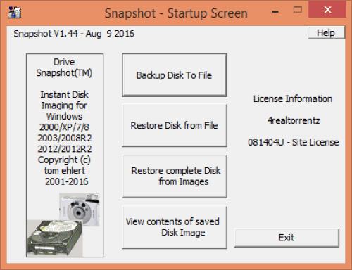 Drive SnapShot 1.44 Keygen + Crack Free Download