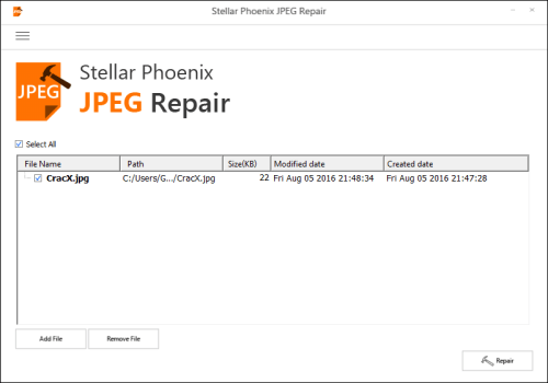 Stellar Phoenix JPEG Repair 4.0 Crack