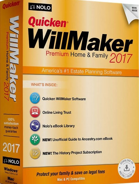 Quicken Willmaker Plus 2017 Crack & Serial Key Download