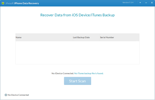 Jihosoft iPhone Data Recovery 7.2.4 Crack \u0026 Serial Key Download