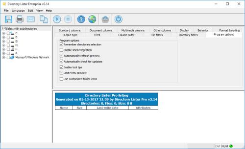 Directory Lister Pro 2.14.0.248 Enterprise Patch Download