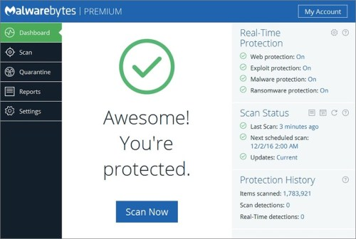 Malwarebytes Anti-Malware 3.0.6.1458 Premium Patch Download
