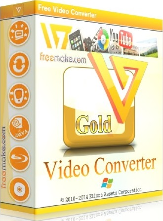 Freemake Video Converter Gold 4.1.9 Crack & Serial Key Free