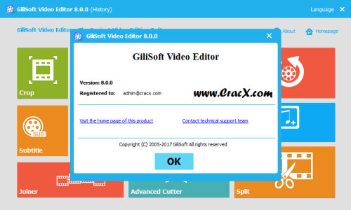 GiliSoft Video Editor 8.0.0 Patch + Keygen Free Download
