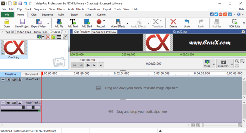 NCH VideoPad Video Editor Professional 4.56 Patch Download