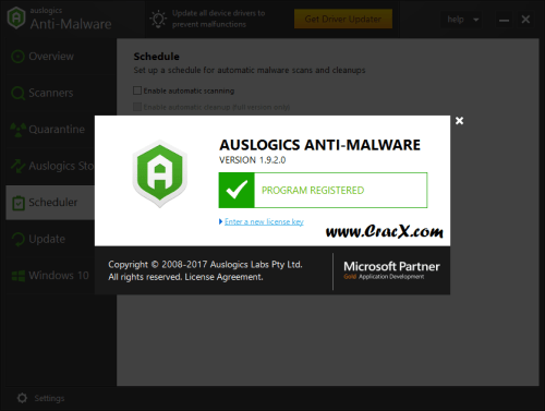 Auslogics Anti-Malware 1.9.2 Activator & Crack Download
