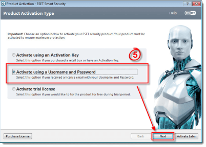 ESET-Smart-Security-9-Activation-Key-Username-Password