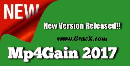 Mp4Gain 2017 License Key & Crack Free Download