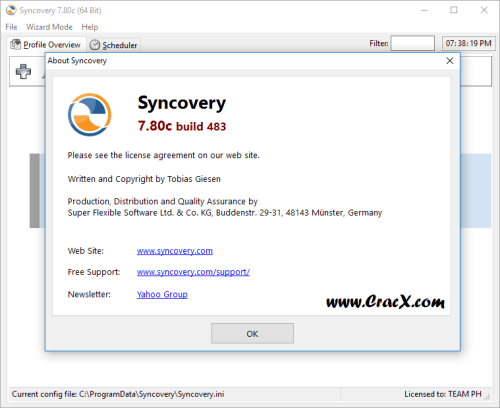 Syncovery Pro Enterprise 7.80c Build 483 Patch & Keygen Free